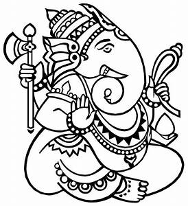 Ganesh Drawings - ClipArt Best