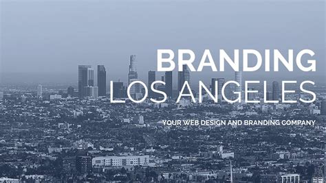 graphic design los angeles graphic design los angeles firm branding los angeles