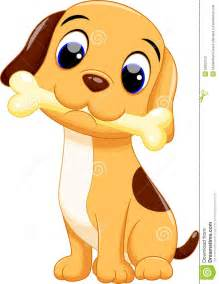 Cute Cartoon Baby Dog