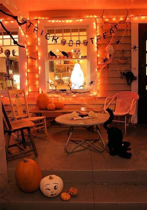 amazing halloween decoration   balconies home design  interior