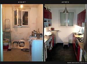 Renovation Maison Avant Apres Travaux : cuisine avant et apres travaux bricolage maison ~ Zukunftsfamilie.com Idées de Décoration