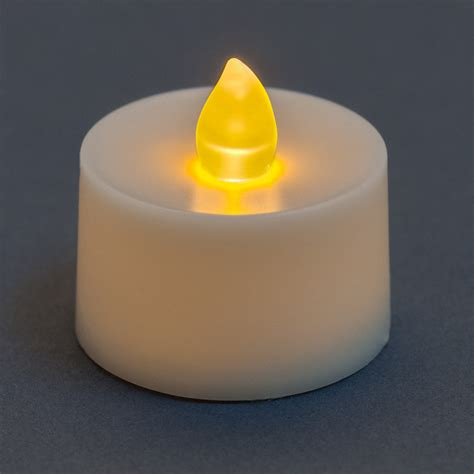 what is a tea light flickering battery operated tea light candle amber