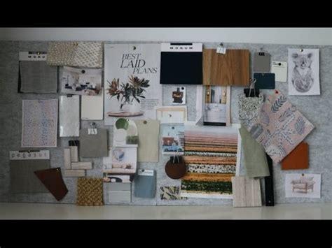 create  mood board   interior designer youtube