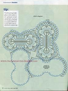 Ergahandmade  Crochet Blanket   Diagram   Free Pattern