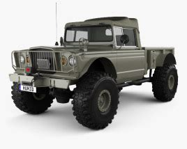 2020 Jeep Kaiser by Jeep Gladiator Jt Rubicon 2020 3d Model Vehicles On Hum3d