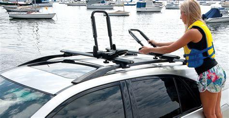 car topping  strapping   kayak kayak roof racks