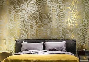 Papier Peint Chambre Adulte Tendance : papier peint tendance chambre maison design ~ Preciouscoupons.com Idées de Décoration