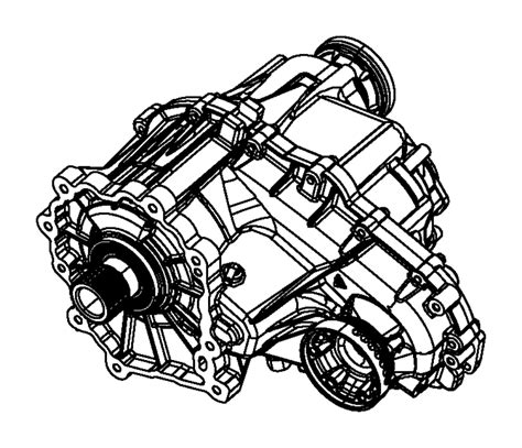 jeep grand cherokee transfer case speed assembly