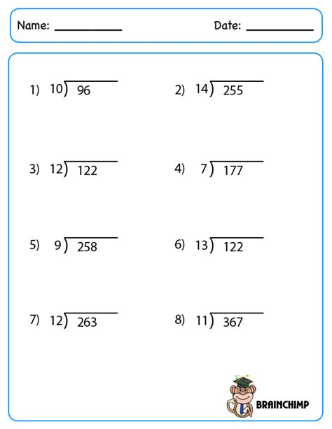 Simple Long Division Worksheets  1000 Images About Division 4th Grade Math On Pinterest Long