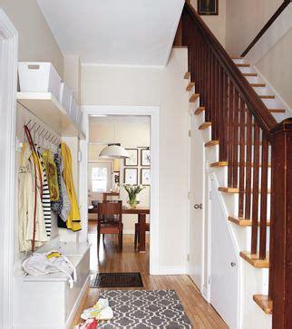 la vraie vie de famille entree  escaliers entree