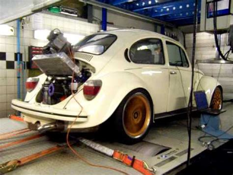 volkswagen type 4 vw type 4 turbo 2 2 ltr 350 hp dynorun youtube