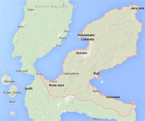 wisata  indonesia  tempat wisata halmahera timur