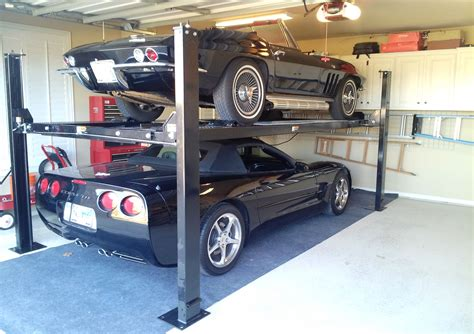 The Best Car Lift For Your Home Garage (2 & 4 Post Lifts