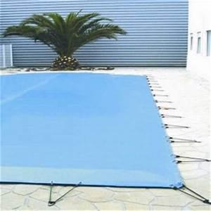 Bache Pour Piscine Rectangulaire : b che d 39 hiver de 580g m2 pour piscine rectangulaire 10x5 m ~ Dailycaller-alerts.com Idées de Décoration