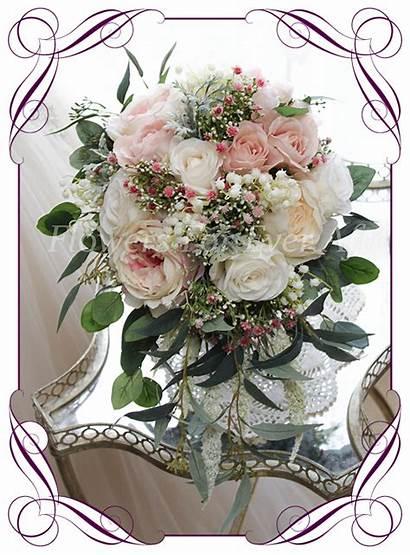 Bouquet Bridal Bouquets Artificial Cascade Maddison Flowers