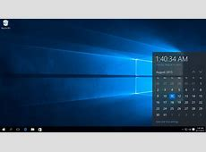 Het Windows 10 bureaublad en de taakbalk uitgelegd