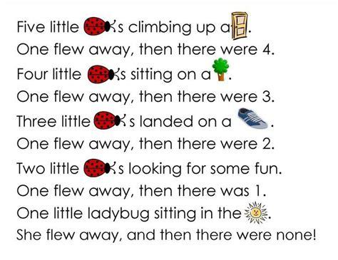 ladybug songs for preschoolers search kindergym 651 | 6741cd738b09820c17dd7ff75c41ed20 preschool poems ladybug crafts