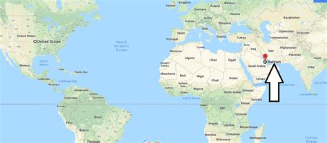 Where is Bahrain? / Bahrain Located in The World Map ...