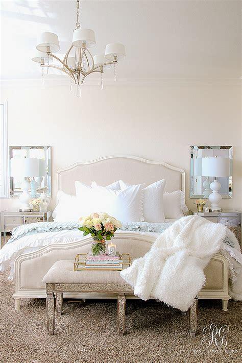 elegant master bedroom makeover dark  light randi