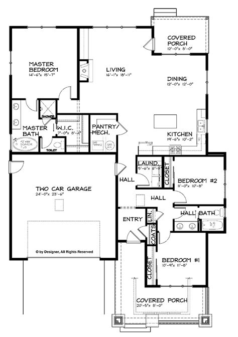 1 floor plans open floor house plans one search house plans