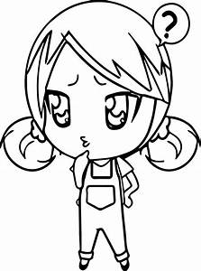 The gallery for --> Chibi Anime Girl Coloring Pages