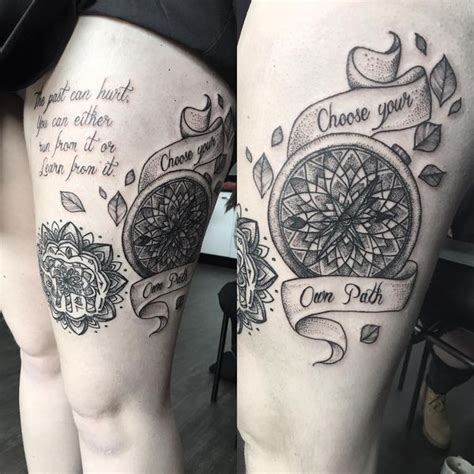 compass tattoo meanings nautical designs ideas