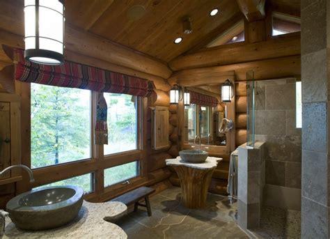 log home bathroom ideas log home design rustic bathroom minneapolis by bill michels architect