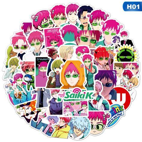 pwfe 50pcs the disastrous of saiki kusuo anime