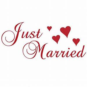Just Married #l9feUy - Clipart Kid