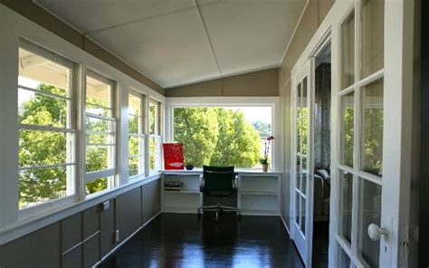sunroom office 1917 bungalow captivates with views price soulful abode