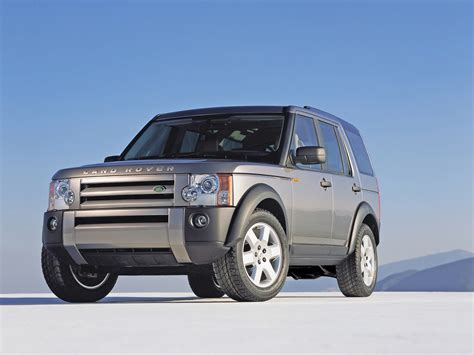 Land Rover Lr3 Wallpaper by 2005 Land Rover Lr3 Discovery 3 Front Angle