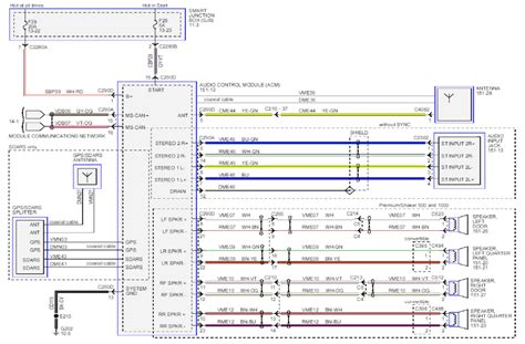 2001 Mustang Radio Wiring Diagram by Anyone The 2013 Stereo Wiring Diagrams The Mustang