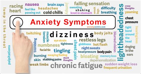 anxiety symptoms  explained anxietycentrecom