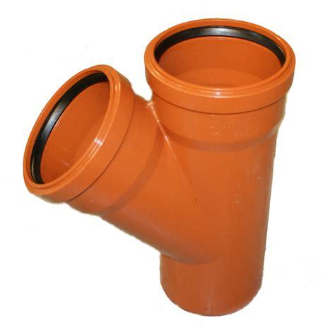 abwasserrohr dn 100 kg abzweig dn 400 400 45 176 grad kgea kunststoff abwasserrohr