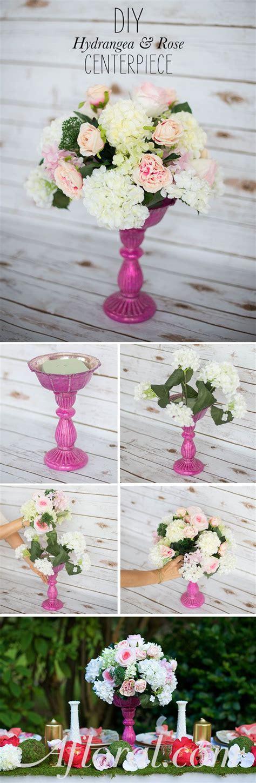 diy silk flower centerpiece  wont   lush