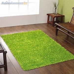 tapis vert pomme annonce 222946 With tapis salon vert