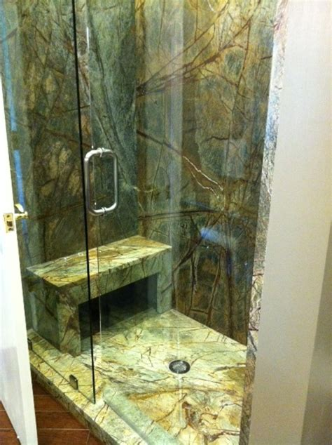 Ryan's Granite Shower Remodel Home Pinterest Granite shower, Granite and Bathroom plans