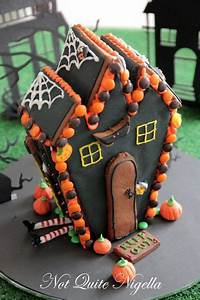 Halloween Gingerbread Witch U0026 39 S House    Not Quite Nigella