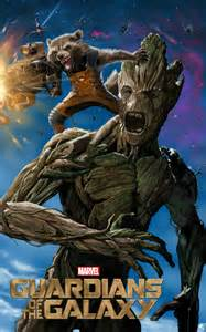 Guardians of the Galaxy Rocket Groot Art