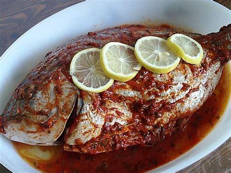 poisson cuisine marocaine cuisine marocaine poisson au four