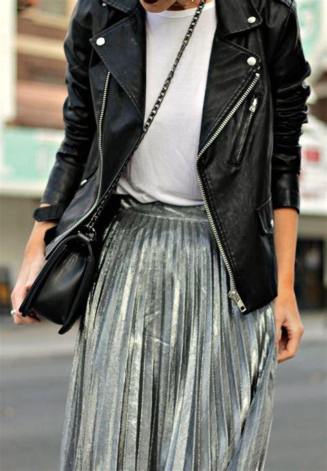 25 Best Ideas About Metallic Skirt On Pinterest