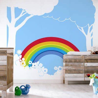 Wandgestaltung Kinderzimmer Regenbogen by Continuing With The Rainbow Theme Mein Hasenbaby