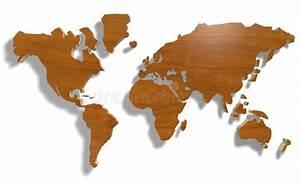 Carte Du Monde Bois : carte du monde avec du bois illustration stock illustration du normal industrie 17122445 ~ Nature-et-papiers.com Idées de Décoration
