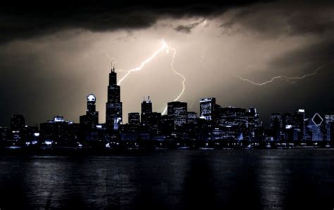 lightning in city wallpaper hd all wallpapers desktop