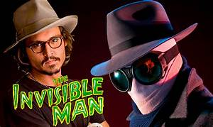Johnny Depp Playing 'The Invisible Man' In Universal's ...