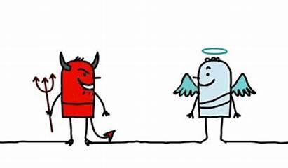 Moral Values Example Speech Cartoon Devil Bad