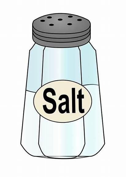 Salt Shaker Clipart Pepper Shakers Svg Salty