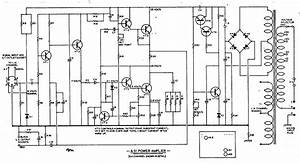 The J  E  Sugden A51 Power Amplifier Circuit Diagram