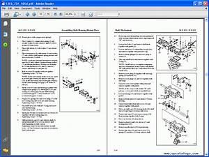 Zf Truck Transmission Service Literature  Repair Manual
