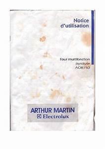 Four Arthur Martin : mode d 39 emploi four arthur martin aob750 trouver une solution un probl me arthur martin aob750 ~ Medecine-chirurgie-esthetiques.com Avis de Voitures